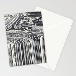 Eye Glitch Art Stationery Cards