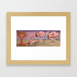 Clouds Of The Mind 2 Framed Art Print