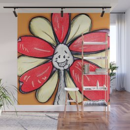 """""""We Are All Unique!"""" Flowerkid Wall Mural"""