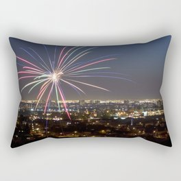 Fireworks. Rectangular Pillow