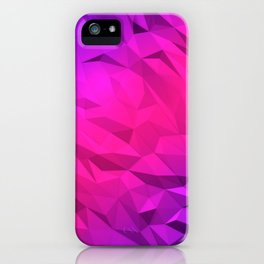 I Love Low Poly 2 iPhone Case
