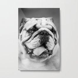 Man's Best Friend Metal Print
