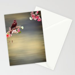Touch of paradise Stationery Cards