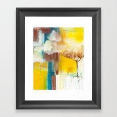 Spilling Light Framed Art Print