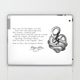 The Conqueror Worm Laptop & iPad Skin