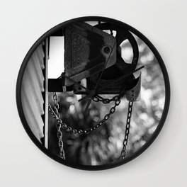 Pulling Together Wall Clock