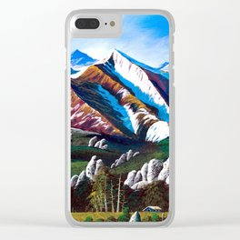 Rocky's Karst Plateau Clear iPhone Case