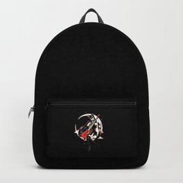 Metal Moon Girl Backpack