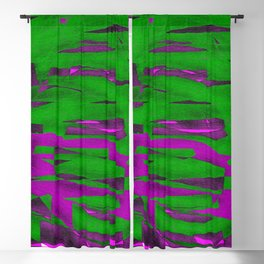 Power Squiggle Blackout Curtain