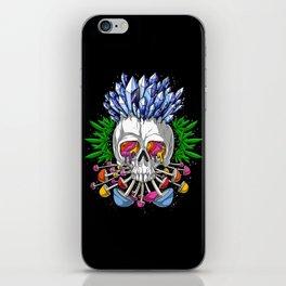 Psychedelic Skull iPhone Skin