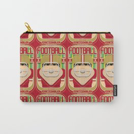 American Football Red and Gold - Enzone Puntfumbler - Victor version Carry-All Pouch