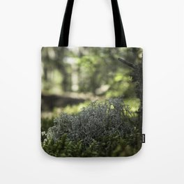 Mountain Forest Floor Tote Bag