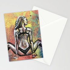 Rear view Stationery Cards