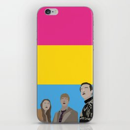 In The Pansexual Flesh iPhone Skin