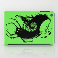 bug iPad Cases featuring Bug by leonardoariza