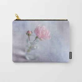 Square with a small rose Carry-All Pouch