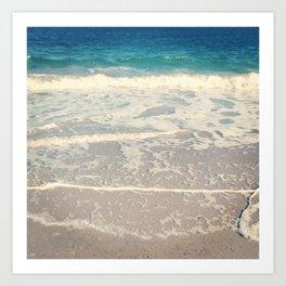 WAVES III Art Print