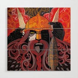 Odin Wood Wall Art