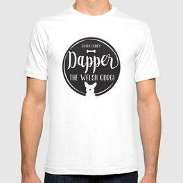 Dapper the Extra Fancy Welsh Corgi T-shirt