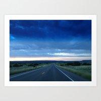 Road to where? Art Print