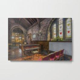 Church Piano Metal Print