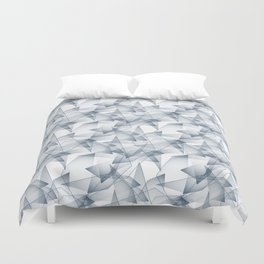 Abstract pattern.the effect of broken glass. Duvet Cover