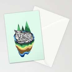 Snuggly fox Stationery Cards