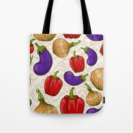 Cute vegetable pattern Tote Bag