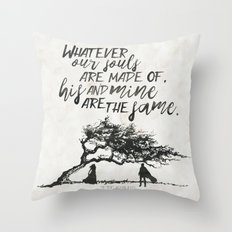 Wuthering Heights - Souls Throw Pillow