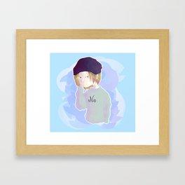 Kenma bean Framed Art Print