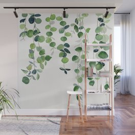 Eucalyptus Watercolor 2  Wall Mural