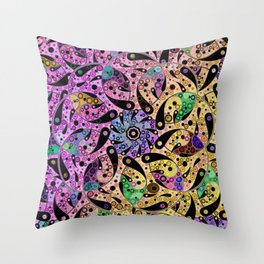Yins in search of yangs Throw Pillow