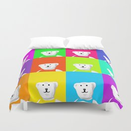 Hello Andy Duvet Cover
