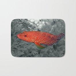 Red Coral Cod Bath Mat