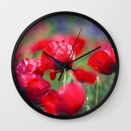 Field of lovee Wall Clock
