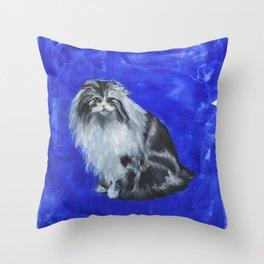 Majestic Cat Throw Pillow