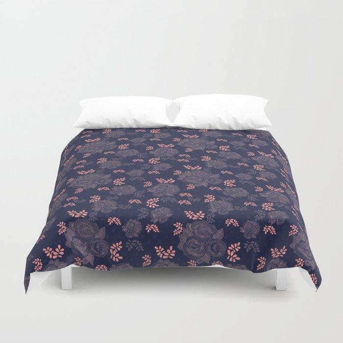 Retro textiles Duvet Cover