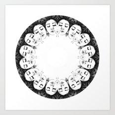 Dream Kaleidoscope  Art Print