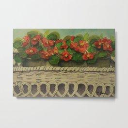 Begonias wc161104a Metal Print