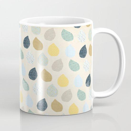 rain drops pattern Mug