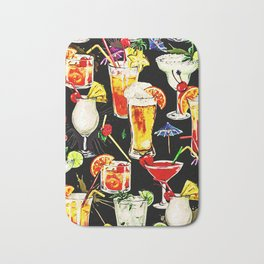 Cocktail Hour in the Tropics Bath Mat