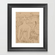 Get Back to Where You Once Belonged Framed Art Print
