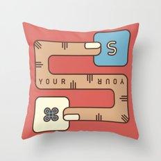 Save Your Work Throw Pillow