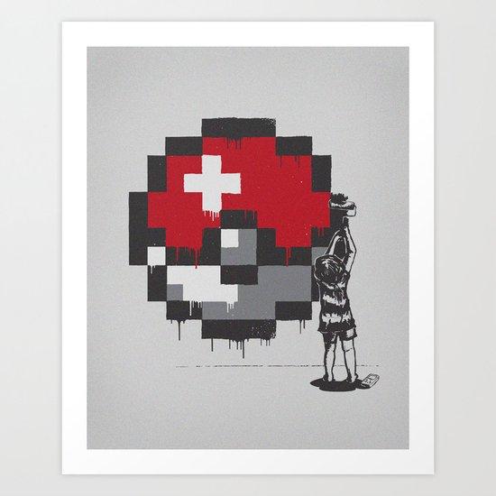 My Favorite Ball Art Print