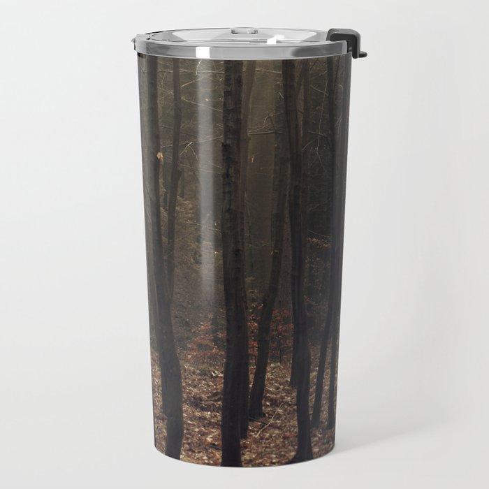 Winter magic forest Travel Mug