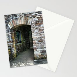 Classic Brick Doorway Stationery Cards