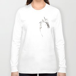 Singing Orchid Long Sleeve T-shirt