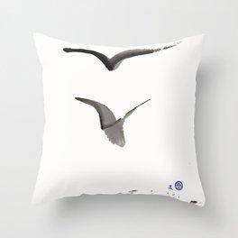 Love Hawk 1 Throw Pillow