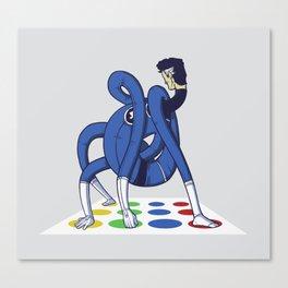 Twister world champion Canvas Print