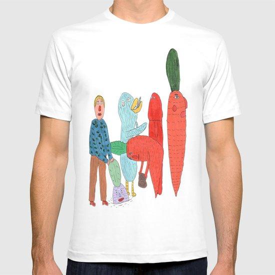 Friends and the garden. T-shirt